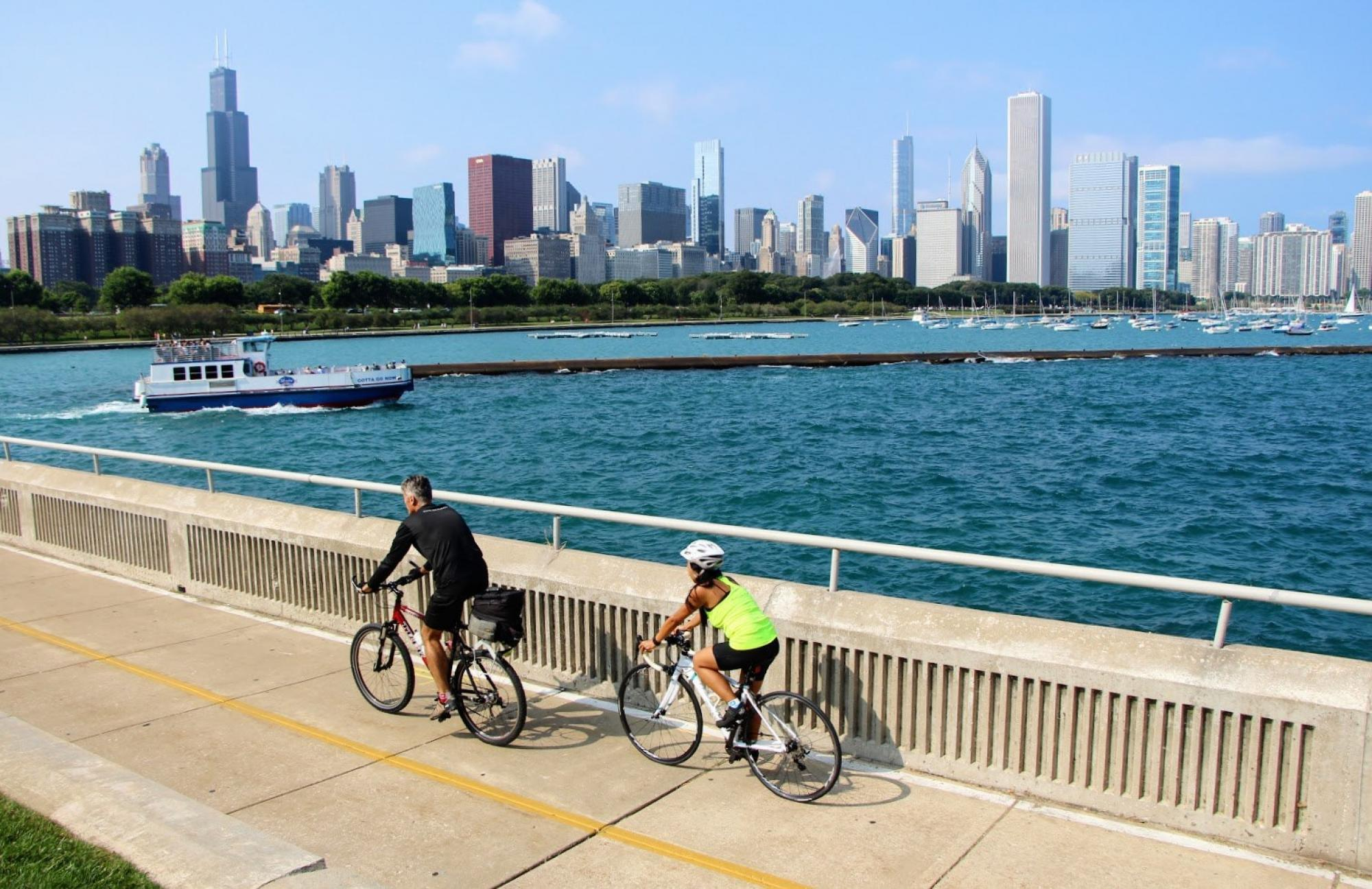 Chicago lakefront trail 1