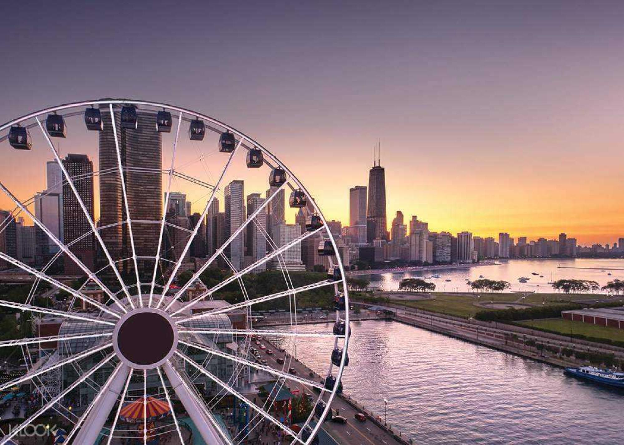 Navy Pier Centennial Wheel Chicago