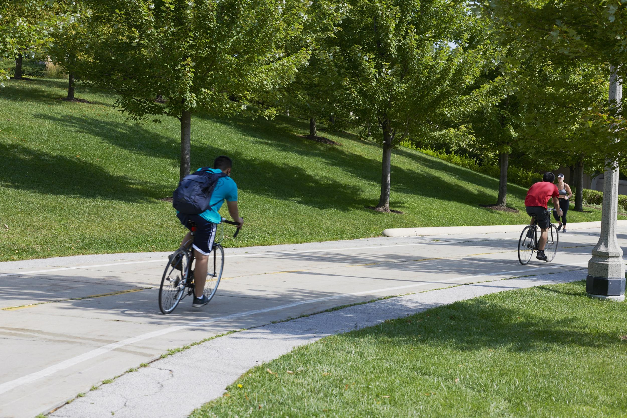 Grant Park Bike Paths