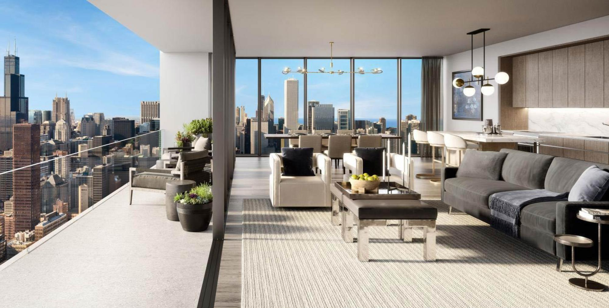Skyline Collection sets a new elevated standard for luxury apartments in Downtown Chicago.